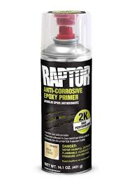U-POL Raptor 2K Epoxy Primer -spray, 400ml