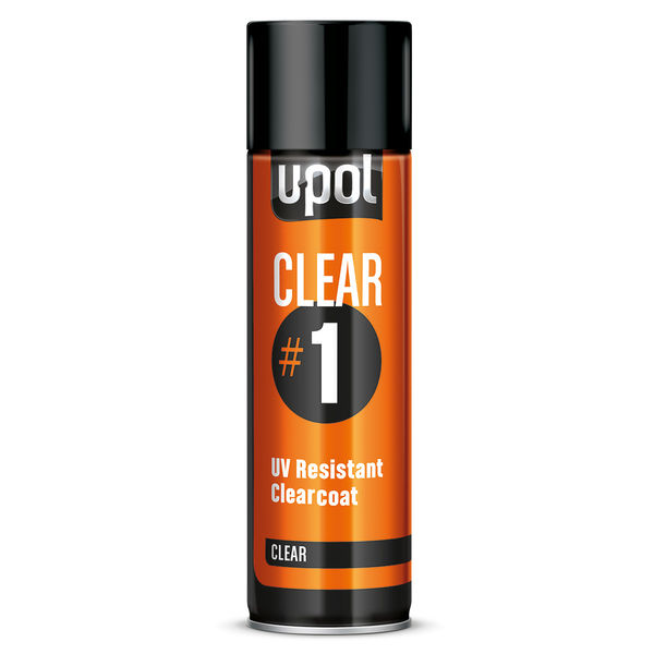 U-POL Clear 1 -kirkaslakka, 1K 450ml