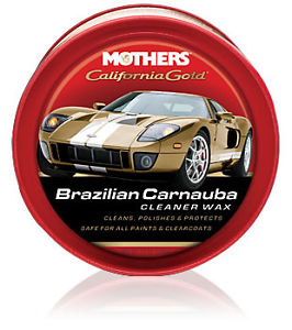Mothers Brazilian Carnauba Cleaner Wax Paste 340g
